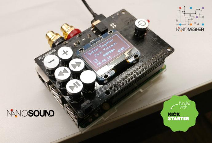NANOSOUND – New Project Launched on Kickstarter | Nanomesher