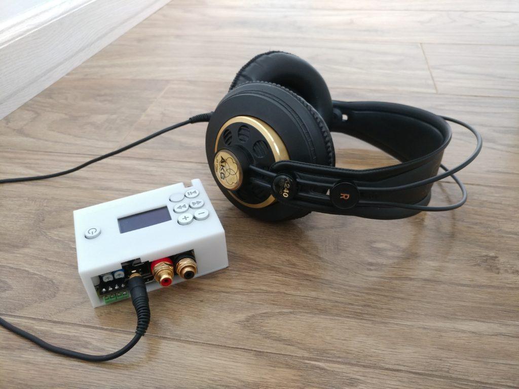 NanoSound Amp^2 Pi headphone and digital Amp | Nanomesher