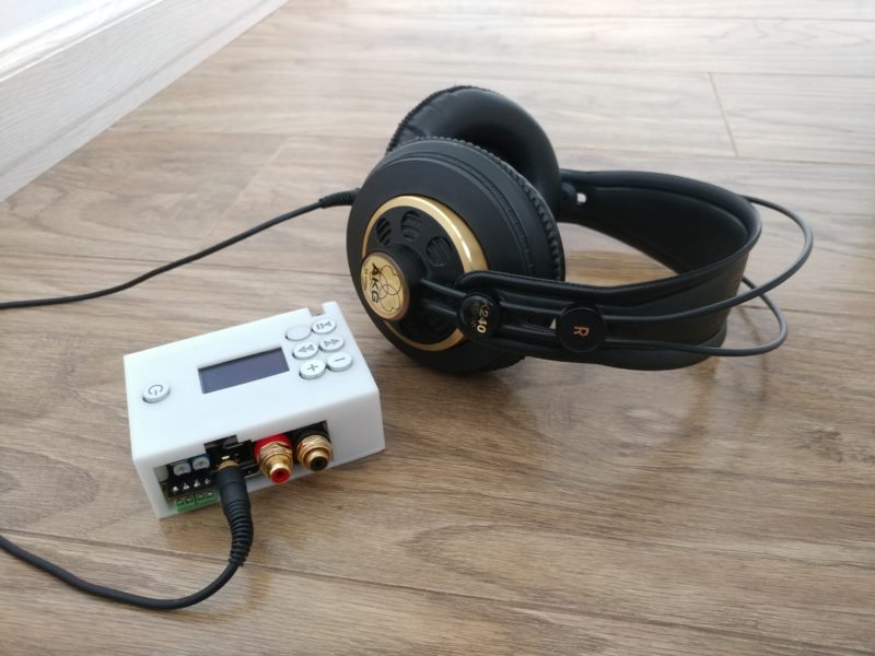 NanoSound All-in-one 24bit 192khz DAC for Raspberry Pi with