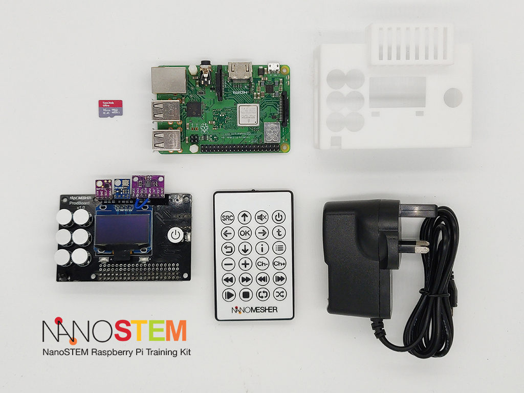 NanoSTEM IOT Weather Kit for Raspberry Pi | Nanomesher