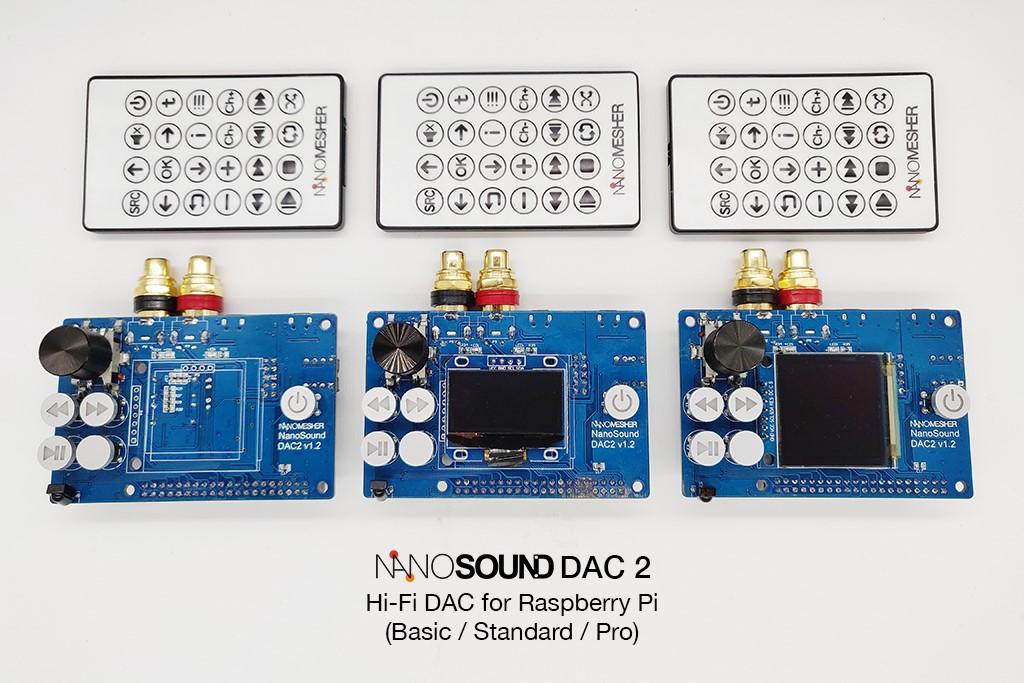 Why Raspberry Pi + NanoSound is a great platform as an Audio Player