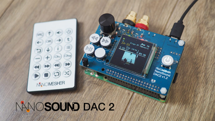 Why Raspberry Pi + NanoSound is a great platform as an Audio Player